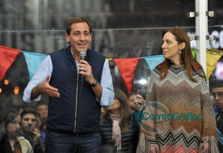 Caminata de Vidal con Garro por City Bell y plenario de Juntos por el Cambio en La Plata 2