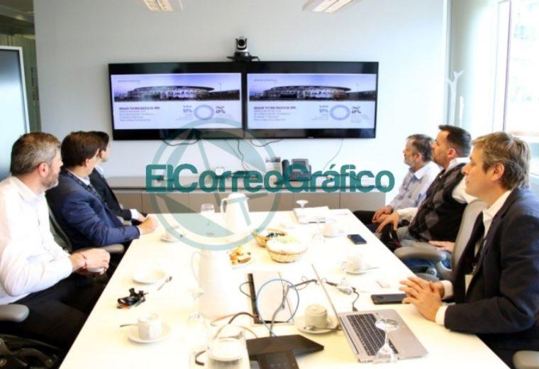 El ministor de Producción bonaerense Javier Tizado recorrió el centro YTec en Berisso 3