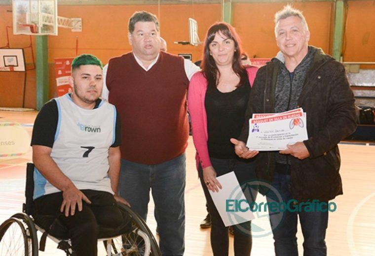 Gran asistencia en la jornada de promoción y capacitación de básquet sobre silla de ruedas en Berisso 02