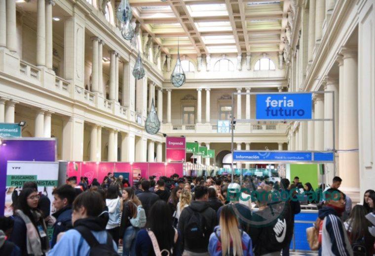 "Importante convocatoria en la apertura de la ""Feria Futuro"" 3"