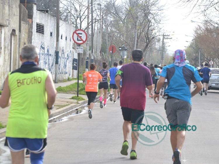 Con 120 atletas se desarrolló la tradicional Maratón del Inmigrante 0