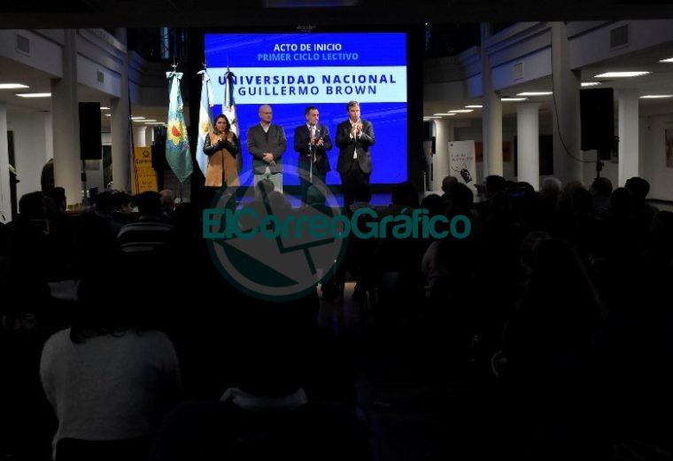 Se dio la apertura a la Universidad Nacional Guillermo Brown 1