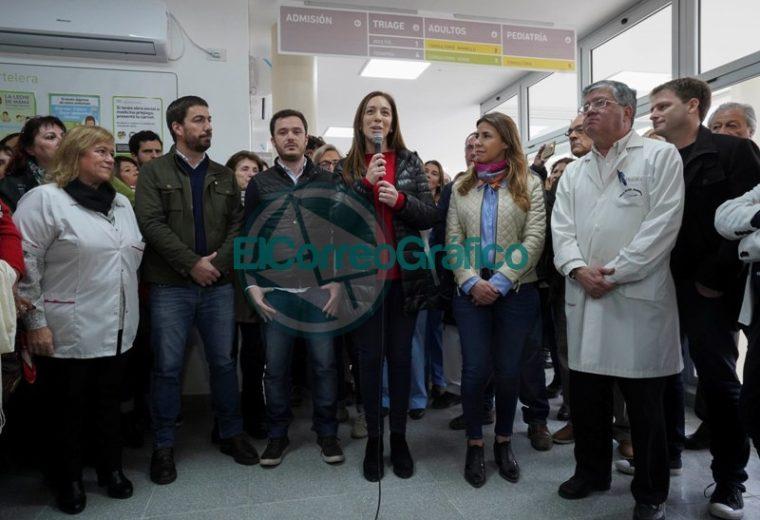 Vidal reinauguró la guardia médica número 50 en Mercedes 2