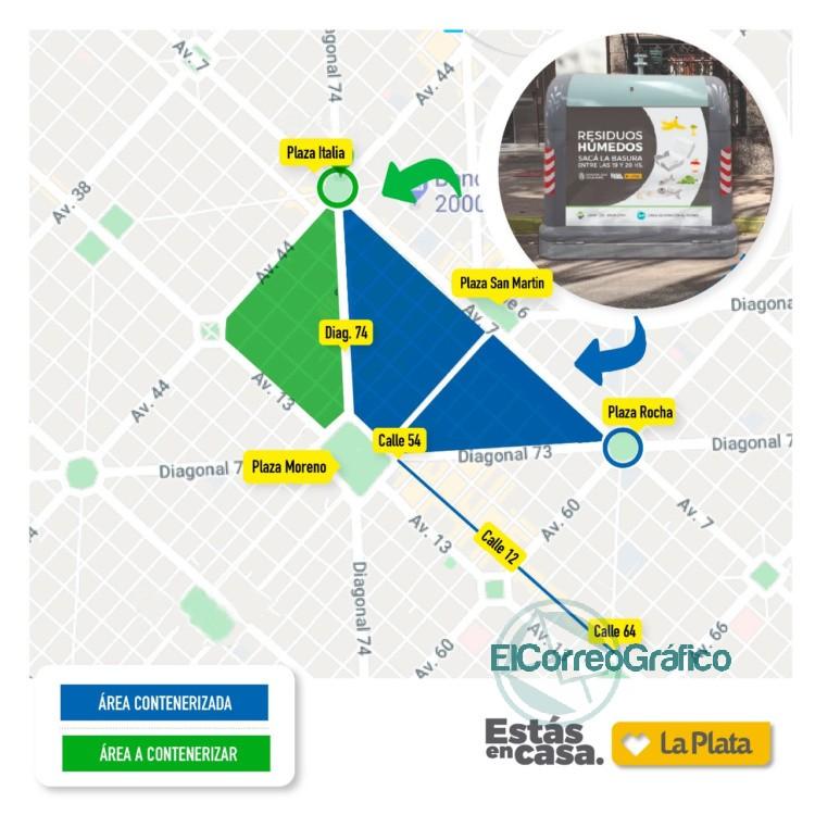 Gestión de Residuos: Continúa con la instalación de contenedores en La Plata 0