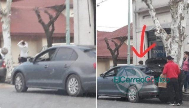 Kicillof se baja de un auto lujoso en cada ciudad y se sube a un Clio «austero» para la foto de campaña 0