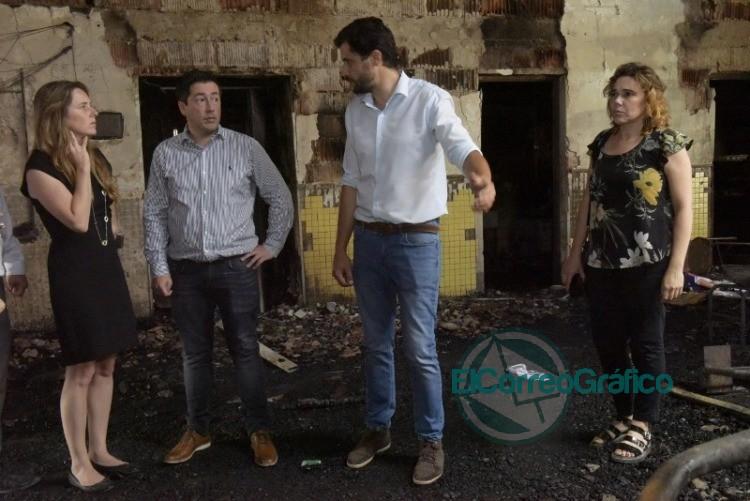 Agustina Vila realizó su primera visita a comunidades educativas bonaerenses 1