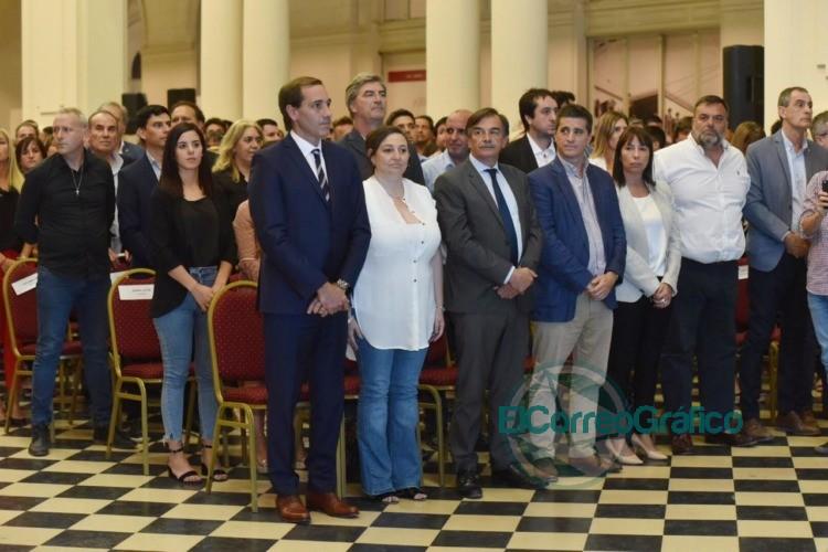 Garro confirmó su nuevo gabinete y anunció las prioridades para los próximos cuatro años 1