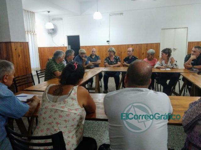 Se llevó la reunión del Foro Vecinal de la Primera de Berisso 2