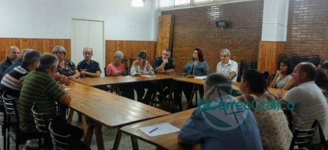 Se llevó la reunión del Foro Vecinal de la Primera de Berisso 1