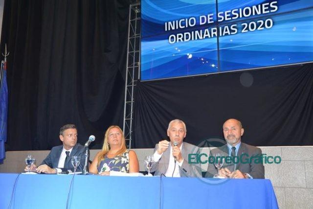 """Cagliardi en la apertura del HCD: """"Encontramos una ciudad devastada, pero sabemos cómo sacarla adelante"""" 2"""