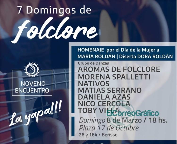 """Continúa """"La Yapa"""" de los Domingos de Folclore 0"""