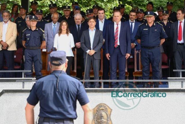"""Kicillof: """"Necesitamos una policía profesionalizada y profundamente democrática"""" 5"""