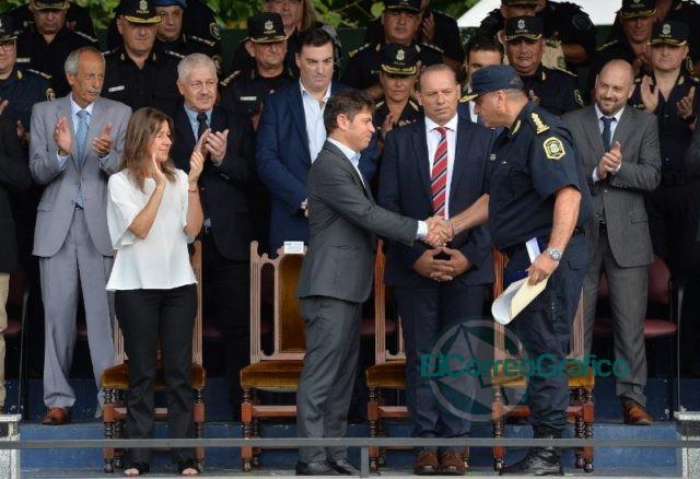 """Kicillof: """"Necesitamos una policía profesionalizada y profundamente democrática"""" 8"""