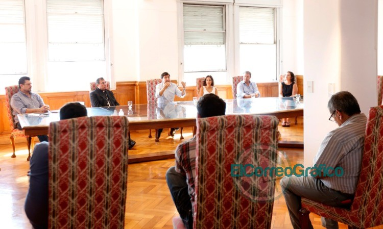 Reunión del Comité de Emergencia Social bonaerense 0