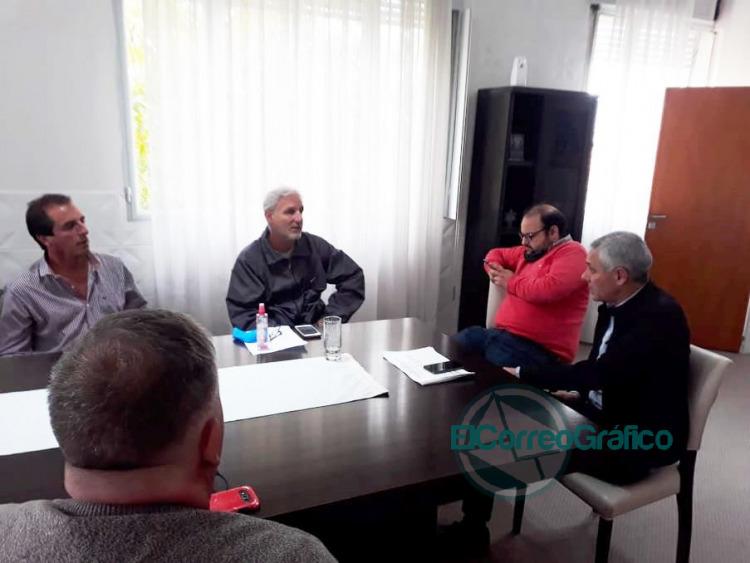 El Sindicato de Municipales iniciaron la negociación paritaria con Cagliardi 0