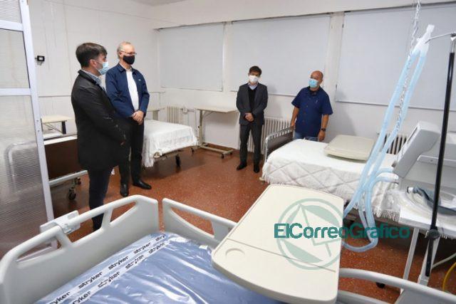 Kicillof inauguró la primera Unidad de Terapia Intensiva de Castelli 0