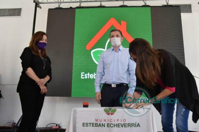 Convenio por Fondo de Emergencia en Violencia de Género con Esteban Echeverría 2