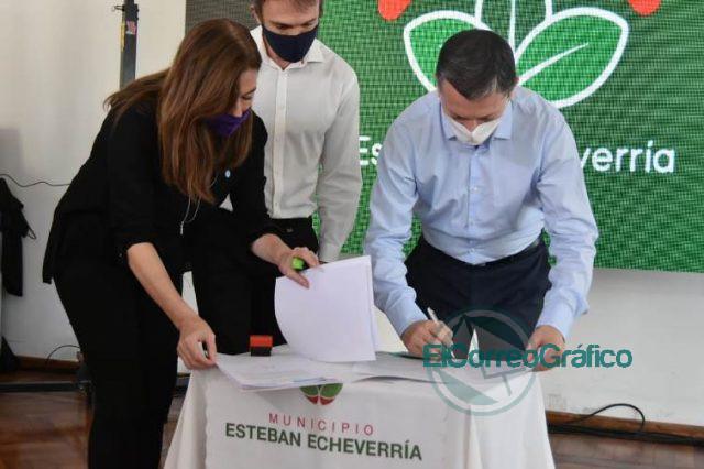 Convenio por Fondo de Emergencia en Violencia de Género con Esteban Echeverría 0