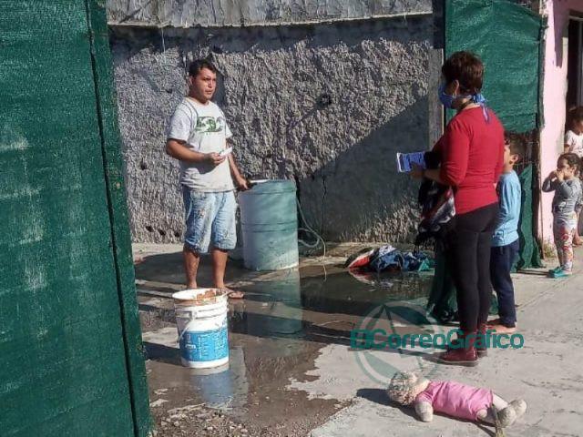 Operativo de prevención contra el dengue en El Carmen 2