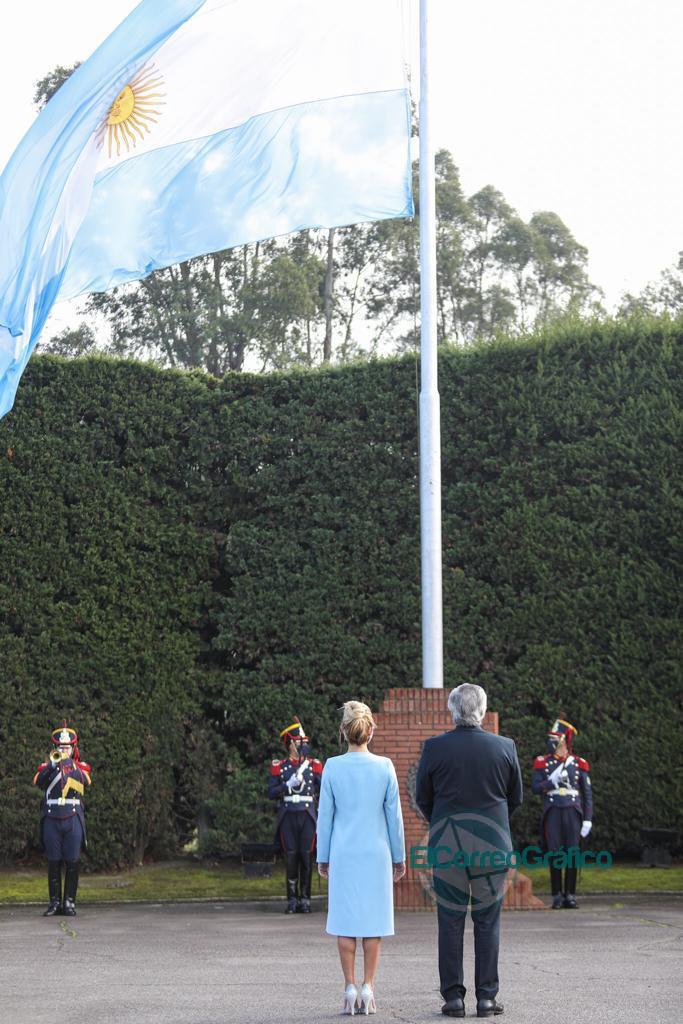 Día de la Bandera: El Presidente tomó la promesa a alumnos de todo el país y ponderó la figura del general Belgrano 1