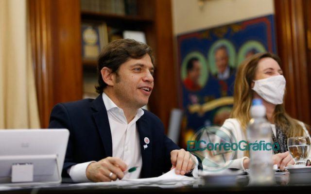 Kicillof conmemoró el Día de la Bandera junto a niños y niñas de los 135 municipios 0