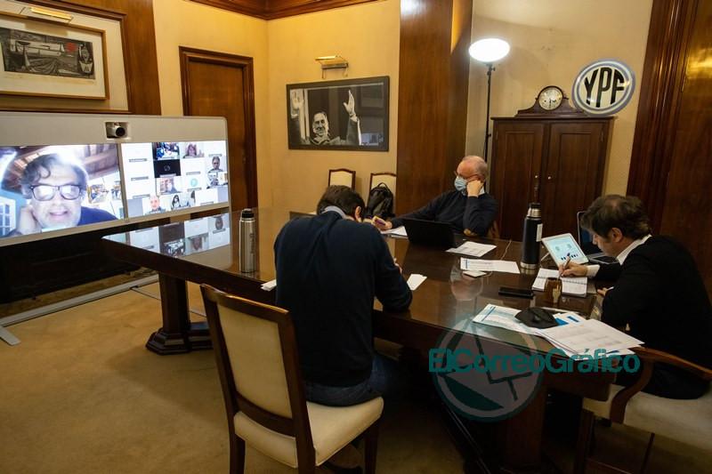 Kicillof encabezó un encuentro con el Comité de Expertos de la Provincia 0