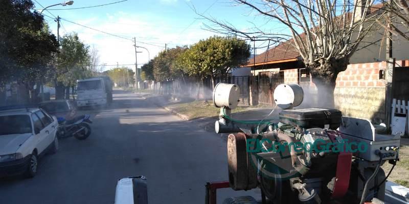 Desinfección y fumigación preventiva en Berisso 3