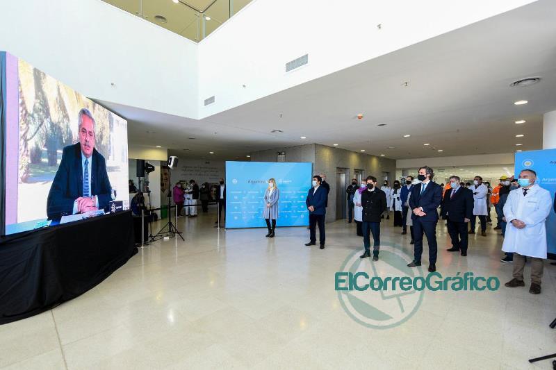 Coronavirus: Fernández participó de la apertura de hospitales en La Matanza, Mar del Plata, Chaco, Santa Fe y Córdoba 0