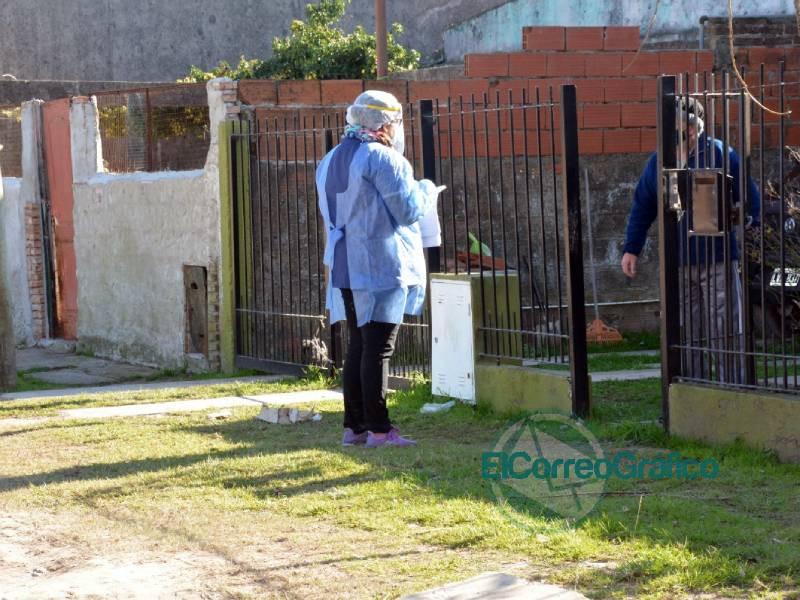 Finalizó el relevamiento en el barrio Villa Nueva del operativo «Detectar» 1