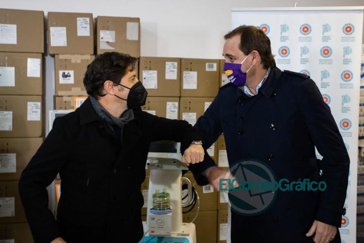La Provincia entregó más de 170 nuevos respiradores a 42 municipios 1