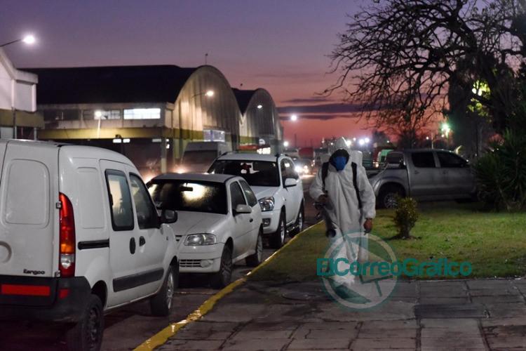 Montan operativo sanitario en el Mercado Regional para desinfectar y detectar casos sospechosos de COVID-19 4