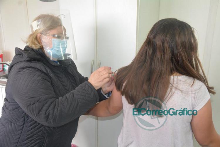 Operativo sanitario en el Barrio Villa Roca 1