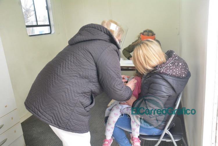 Jornada integral de vacunación en Barrio Obrero 2