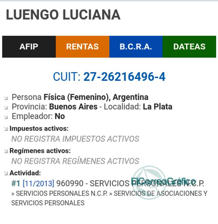 Cagliardi con un sueldo de 680 mil pesos es deudor del estado que lo alimenta 8