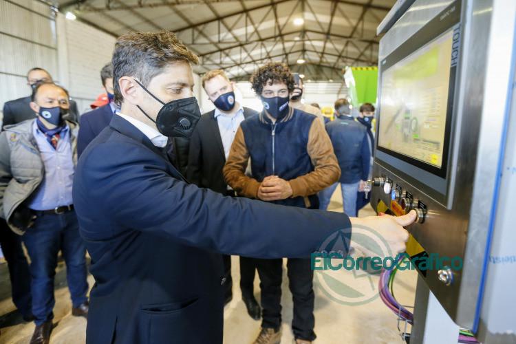 Kicillof presentó nueva tecnología nacional para la transformación de residuos urbanos 2
