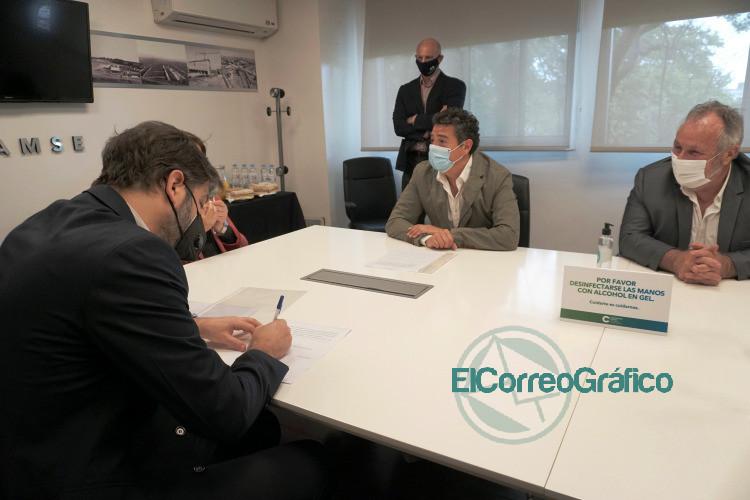Bianco puso en funciones a la nueva presidenta de la CEAMSE 1