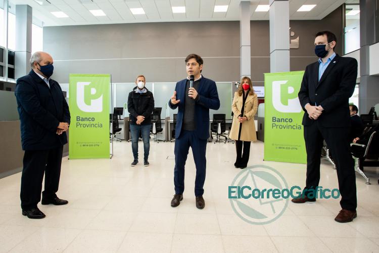 Nuevo centro de salud y sucursal del Banco Provincia en Ezeiza 4