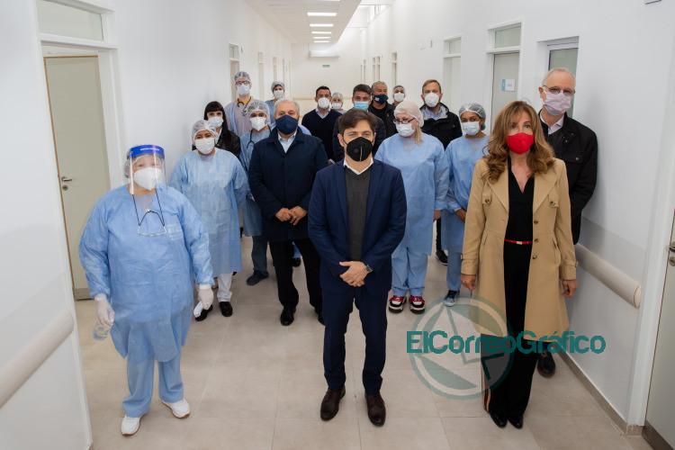 Nuevo centro de salud y sucursal del Banco Provincia en Ezeiza 2