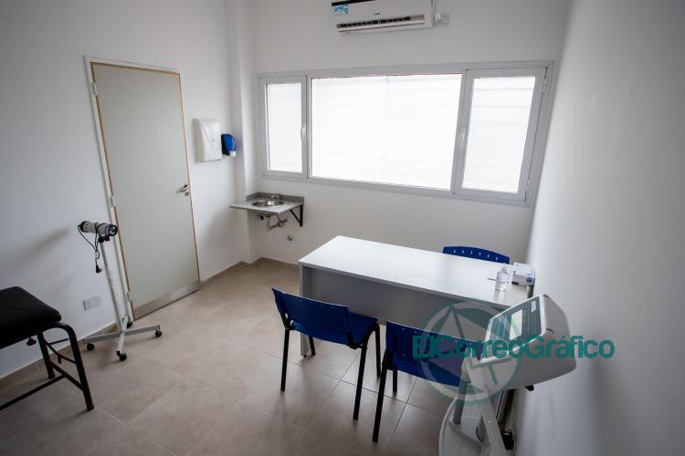 Nuevo centro de salud y sucursal del Banco Provincia en Ezeiza 1