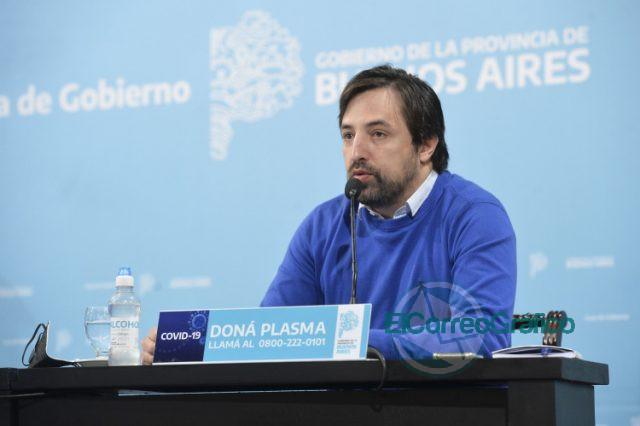 viceministro bonaerense de Salud, Nicolás Kreplak