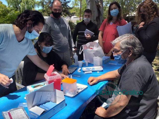 Capacitación a equipo de salud de Berisso sobre Test Rápidos de VIH 3