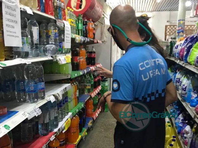 En Berisso se controló la venta de agua envasada en comercios 2