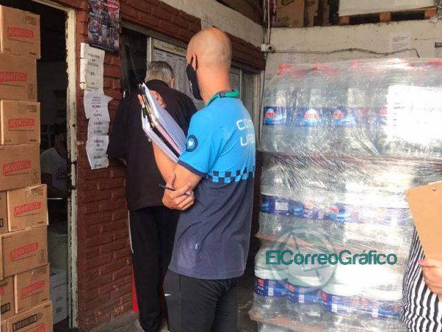 En Berisso se controló la venta de agua envasada en comercios 6