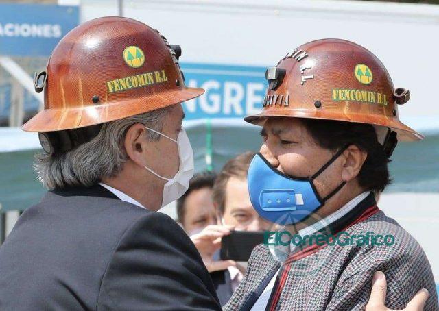 Fernández despidió a exilidado político de Evo Morales en La Quiaca 1