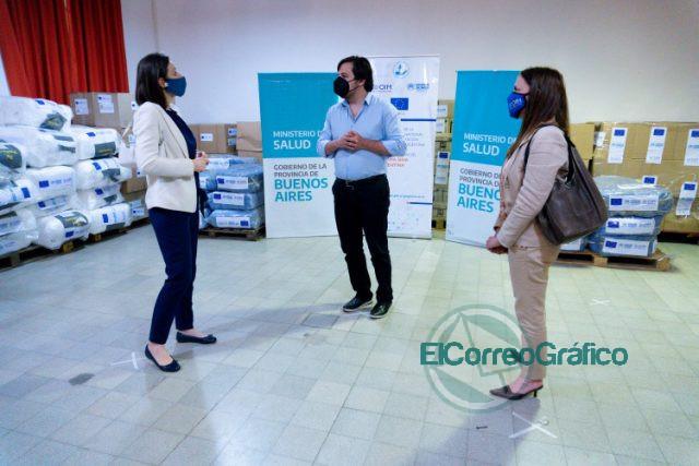 La Provincia recibió una donación de insumos médicos de la Unión Europea 2
