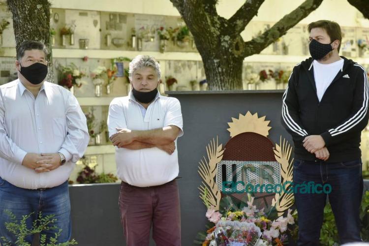 La UCR de Berisso homenajearon a los afiliados fallecidos 0