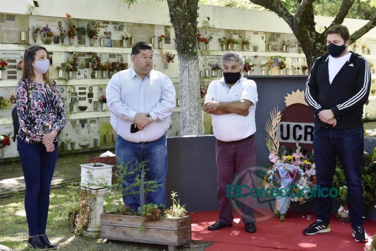 La UCR de Berisso homenajearon a los afiliados fallecidos 1