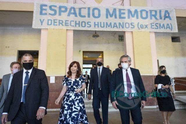 """Alberto Fernández: """"El reencuentro de los argentinos es no olvidar, reclamar la verdad y pedir justicia"""" 4"""