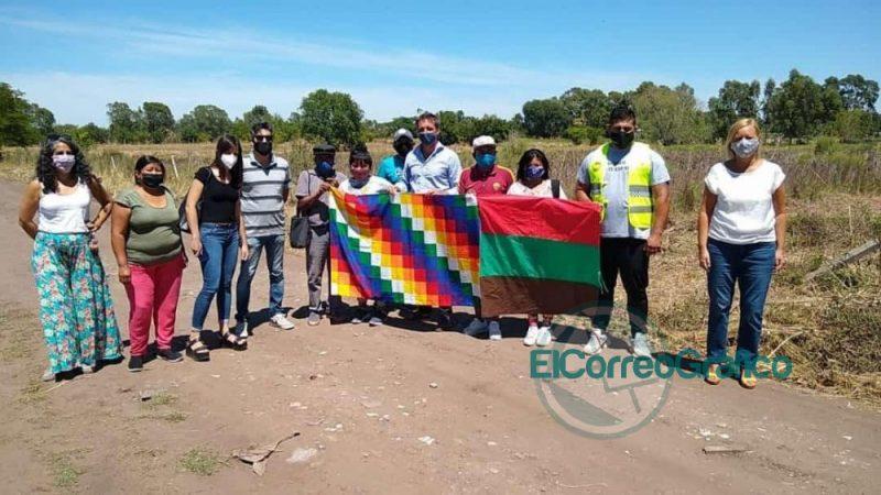 Acuerdo en La Plata para ceder tierras a la comunidad indigena Iwi Imenb