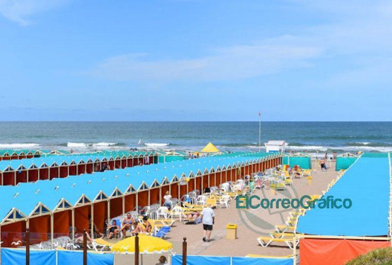 Avance de sector privado en las playa publicas de Mar del Plata